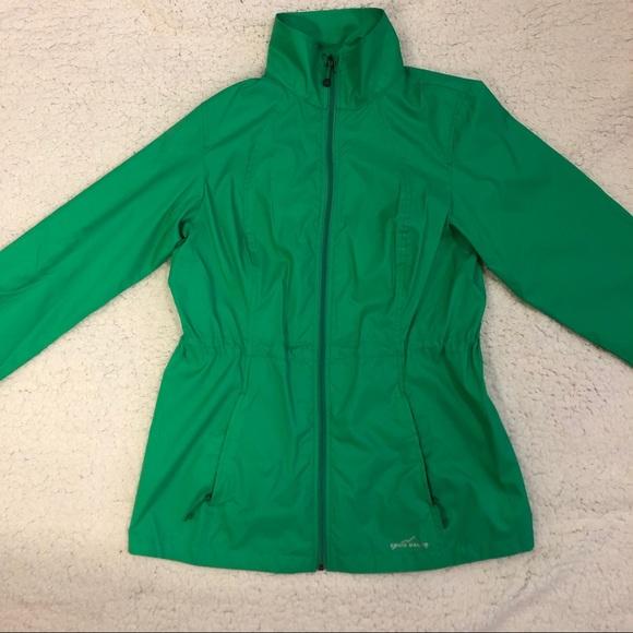 Eddie Bauer Jackets & Blazers - 2/$100 NWOT Eddie Bauer Green Packable Windbreaker